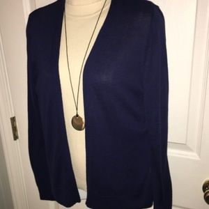 🆕NWT OLD NAVY LIGHTWEIGHT SOFT NAVY OPEN CARDIGAN